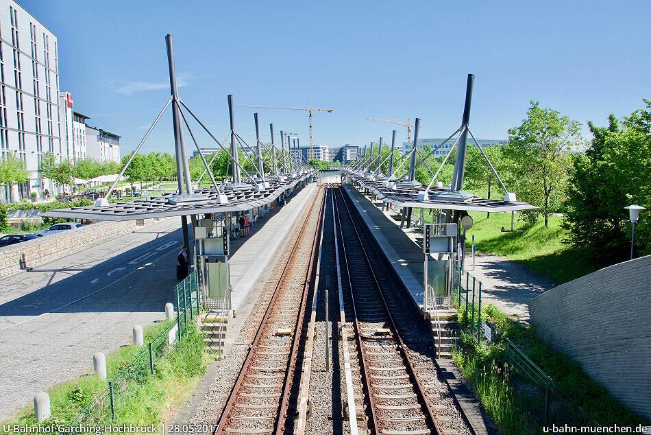 U Bahn Garching Hochbrück