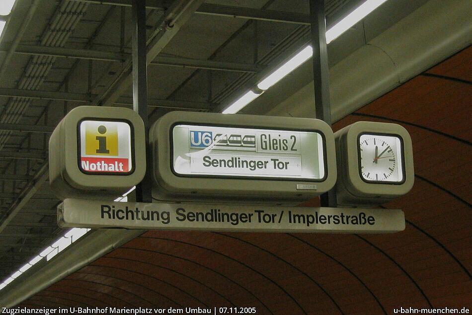 U Bahnhof Marienplatz U3 U6 U Bahn München