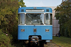 A-Wagen 091 in der Technischen Basis