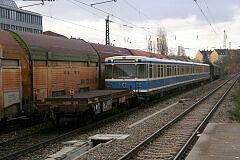 Wagen 103 kommt aus Nürnberg zurück