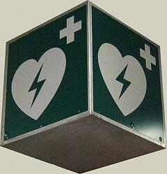Defibrilator-Symbol