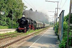 052 der Fränkischen Museumseisenbahn Juni 2003