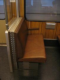 Umgebaute Sitzbank im Syntegra-Prototyp 498