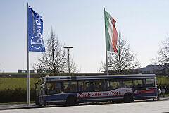 bauma 2010 - Impressionen vom Bus-Shuttleverkehr