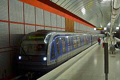 """C-Zug 602 als """"Messesonderzug"""" im bauma-Verkehr"""
