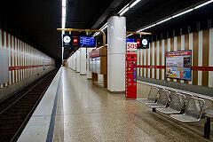 A-Zug in der Maillingerstraße