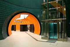Nachgerüsteter Lift am Marienhof