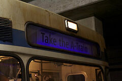 Fahrt in der Party-U-Bahn: Take the A-Train