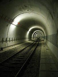 Tunnelstrecke nach Garching