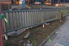 Unfall Studentenstadt - Das herausgebrochene Geländer