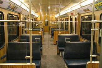 Innenraum des Prototyp 091