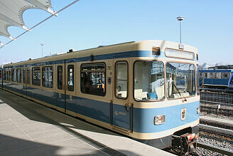 A-Wagen 113 in Fröttmaning