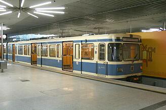 A-Wagen 133 in Garching-Forschungszentrum