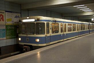 A-Wagen 150 am Goetheplatz