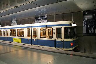 A-Wagen 167 in Feldmoching