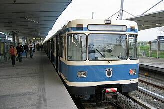A-Wagen 172 in Garching-Hochbrück
