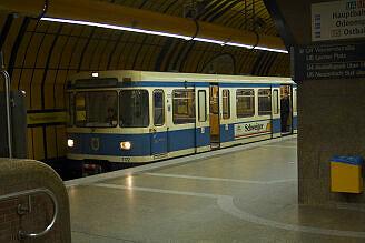 A-Wagen 172 an der Theresienwiese