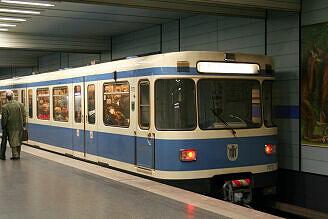 A-Wagen 173 am Goetheplatz