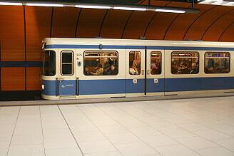 A-Wagen 174 am Marienplatz