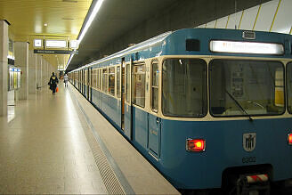 A-Wagen 202 am Laimer Platz