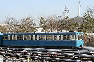 A-Wagen 209 im Betriebshof Nord