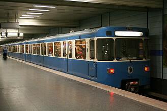 A-Wagen 214 am Goetheplatz