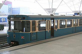 A-Wagen 303 in Fröttmaning