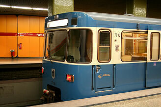 A-Wagen 336 am Kolumbusplatz