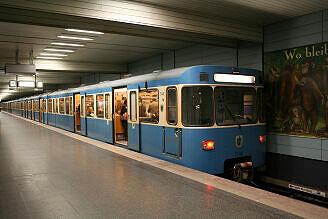 A-Wagen 340 am Goetheplatz
