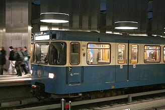 A-Wagen 341 am OEZ