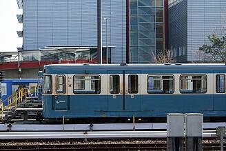 A-Wagen 347 im Betriebshof Nord