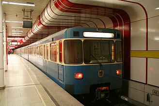 A-Wagen 360 am Ostbahnhof