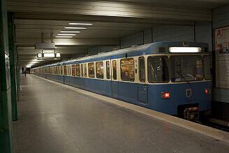 A-Wagen 366 am Goetheplatz