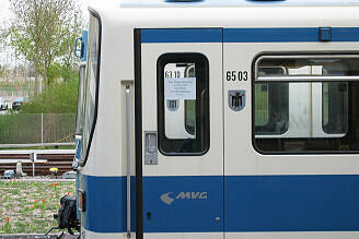 B-Wagen 503 im Betriebshof Nord
