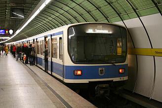 B-Wagen 510 am Odeonsplatz