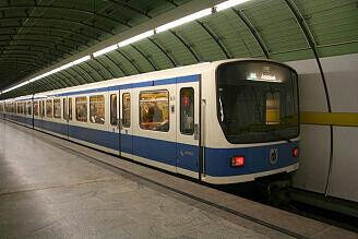 B-Wagen 511 am Odeonsplatz