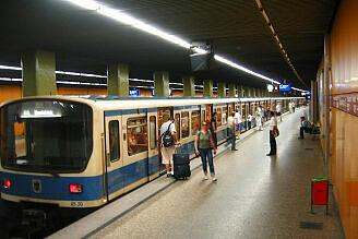 B-Wagen 520 am Kolumbusplatz