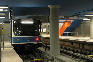 B-Wagen 532 am Olympia-Einkaufszentrum