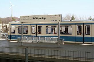 B-Wagen 533 in Fröttmaning