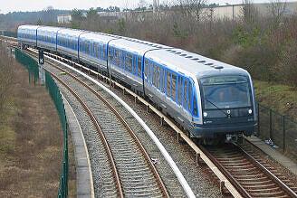 C-Zug 605 kurz vor Garching-Hochbrück