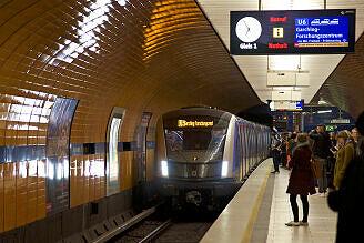 C2-Zug 702 am Marienplatz am ersten Einsatztag