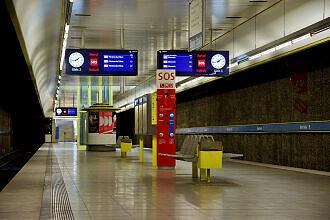 U-Bahnhof Basler Straße