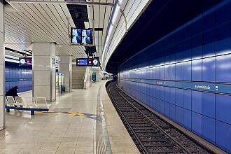 U-Bahnhof Brudermühlstraße Gleis 2
