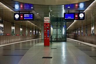 U-Bahnhof Feldmoching Gleis 1