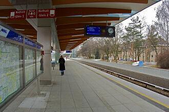 U-Bahnhof Freimann nach dem Umbau