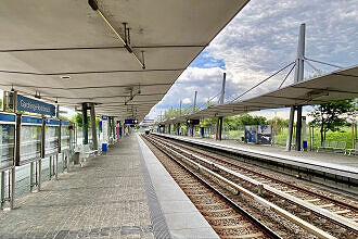 U-Bahnhof Garching Hochbrück