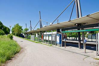U-Bahnhof Garching-Hochbrück (östlicher Zugang)