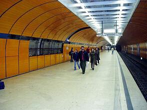 Marienplatz vor dem Umbau