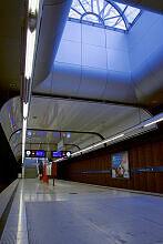 Oberlicht im U-Bahnhof Machtlfinger Straße