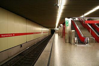 U-Bahnhof Neuperlach Zentrum Gleis 2